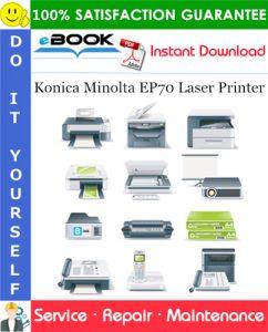 Konica Minolta EP70 Laser Printer Service Repair Manual + Parts Catalog