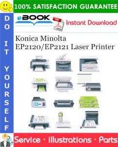 Konica Minolta EP2120/EP2121 Laser Printer Parts Manual