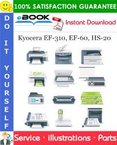 Kyocera EF-310, EF-60, HS-20 Parts Manual