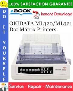 OKIDATA ML320/ML321 Dot Matrix Printers Service Repair Manual