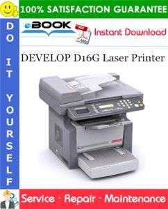 DEVELOP D16G Laser Printer Service Repair Manual