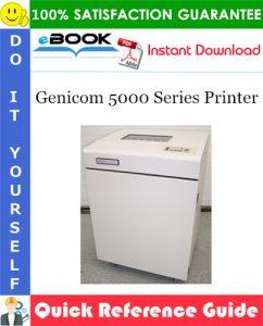 Genicom 5000 Series Printer Quick Reference Guide