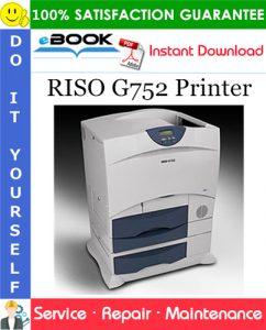 RISO G752 Printer Service Repair Manual