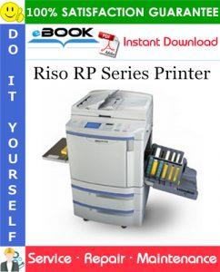 Riso RP Series Printer Service Repair Manual