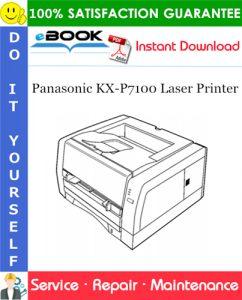 Panasonic KX-P7100 Laser Printer Service Repair Manual