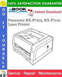 Panasonic KX-P7105, KX-P7110 Laser Printer Service Repair Manual