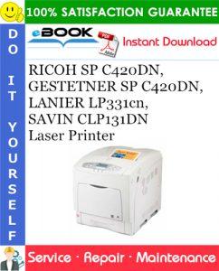 RICOH SP C420DN, GESTETNER SP C420DN, LANIER LP331cn, SAVIN CLP131DN Laser Printer