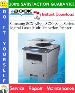 Samsung SCX-5835, SCX-5935 Series Digital Laser Multi-Function Printer Service Repair Manual