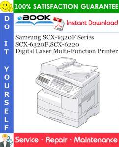 Samsung SCX-6320F Series SCX-6320F, SCX-6220 Digital Laser Multi-Function Printer Service Repair Manual