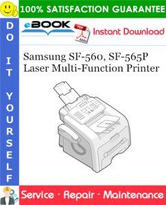 Samsung SF-560, SF-565P Laser Multi-Function Printer Service Repair Manual