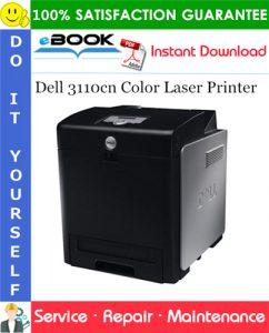 Dell 3110cn Color Laser Printer Service Repair Manual