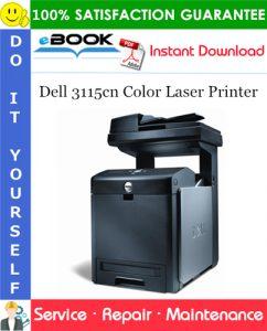 Dell 3115cn Color Laser Printer Service Repair Manual