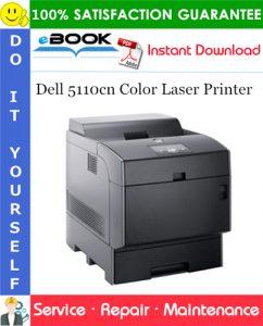 Dell 5110cn Color Laser Printer Service Repair Manual