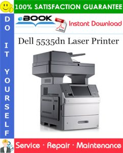 Dell 5535dn Laser Printer Service Repair Manual