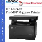 HP LaserJet Pro MFP M435nw Printer Service Repair Manual