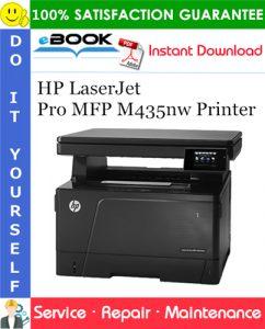 HP LaserJet Pro MFP M435nw Printer Service Repair Manual