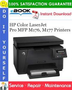 HP Color LaserJet Pro MFP M176, M177 Printers Service Repair Manual