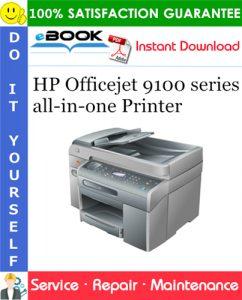 HP Officejet 9100 series all-in-one Printer Service Repair Manual