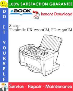 Sharp Facsimile UX-2200CM, FO-2150CM Service Repair Manual