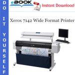 Xerox 7142 Wide Format Printer Service Repair Manual
