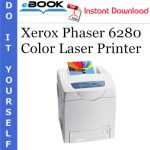Xerox Phaser 6280 Color Laser Printer Service Repair Manual