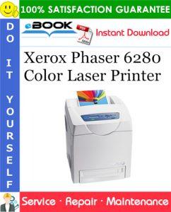 Xerox Phaser 6280 Color Laser Printer Service Repair Manual