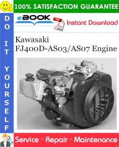 Kawasaki FJ400D-AS03/AS07 Engine Service Repair Manual