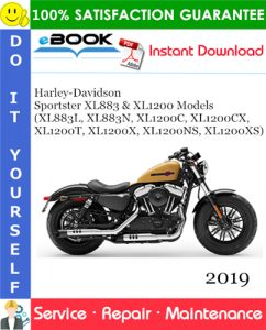 2019 Harley-Davidson Sportster XL883 & XL1200 Models