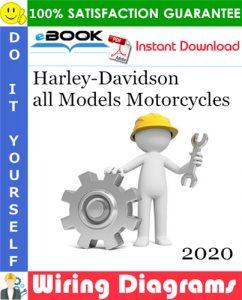 2020 Harley-Davidson all Models Motorcycles Wiring and Circuit Diagrams